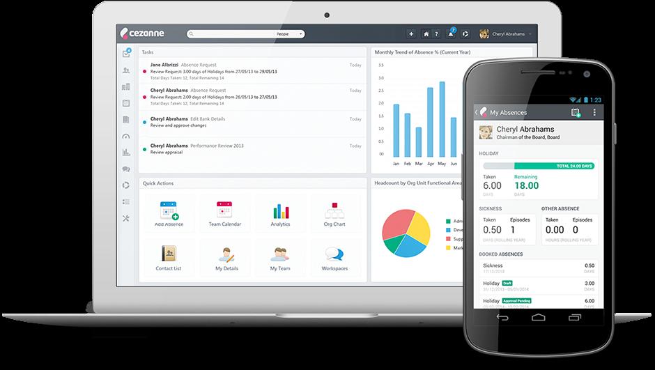 Hr Software By Cezanne Hr Human Resource Management
